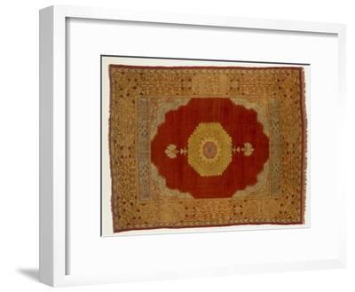 Rugs and Carpets: Turkey - Kula Medallion Carpet--Framed Giclee Print