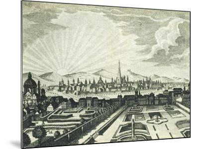 View of Vienna, Austria 18th Century Print--Mounted Giclee Print