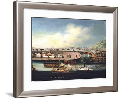 View of Canton--Framed Giclee Print