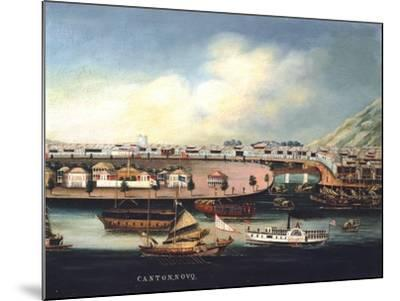 View of Canton--Mounted Giclee Print