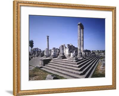Turkey, Didim, Temple of Apollo--Framed Giclee Print