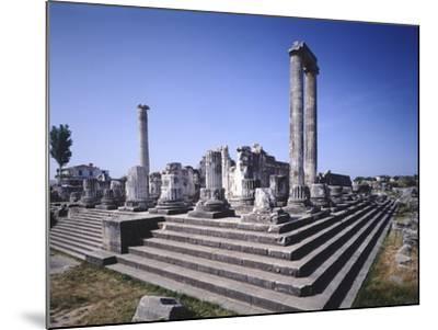 Turkey, Didim, Temple of Apollo--Mounted Giclee Print
