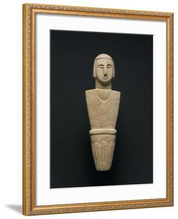 Votive Statue, from Brochtorff Circle at Xaghra, Gozo Island--Framed Giclee Print