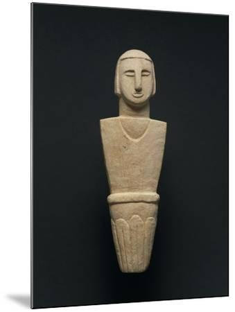 Votive Statue, from Brochtorff Circle at Xaghra, Gozo Island--Mounted Giclee Print