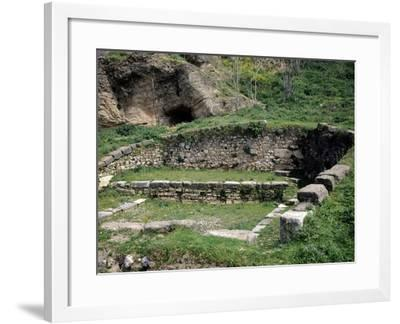 Fountain of Dirce in Thebes, Greece--Framed Giclee Print