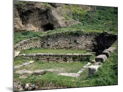 Fountain of Dirce in Thebes, Greece--Mounted Giclee Print
