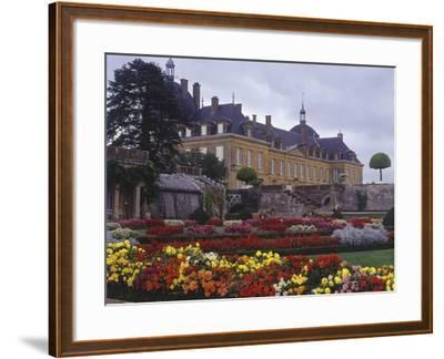 France, Bourgogne, Surroundings of Palinges, Castle of Digoine--Framed Giclee Print