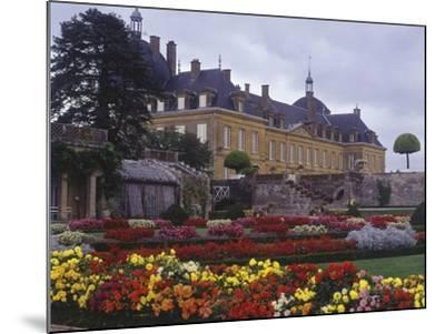 France, Bourgogne, Surroundings of Palinges, Castle of Digoine--Mounted Giclee Print