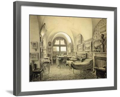 Russia, St Petersburg, the Winter Palace, Room Where Tsar Nicholas I Died in February 18, 1855--Framed Giclee Print