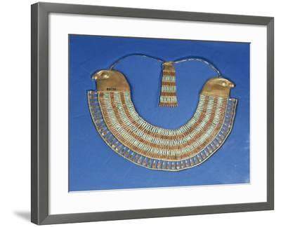 Egypt, Cairo, Necklace That Belonged to Princess Neferuptah, Twelfth Dynasty--Framed Giclee Print