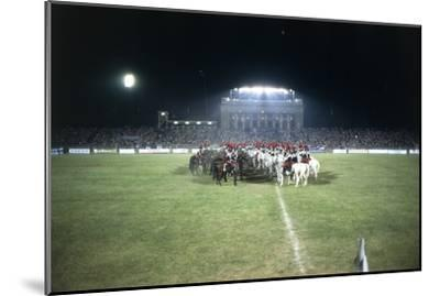Italy, Milan, Arena Civica, Carousel of Military Police--Mounted Giclee Print