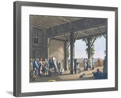 Egyptian Antiques in Boulac--Framed Giclee Print