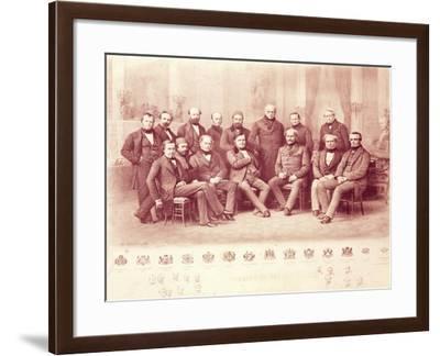 The Paris Congress of 1856--Framed Giclee Print