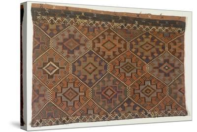 Rugs and Carpets: Turkey - Anatolia. Kilim Carpet--Stretched Canvas Print