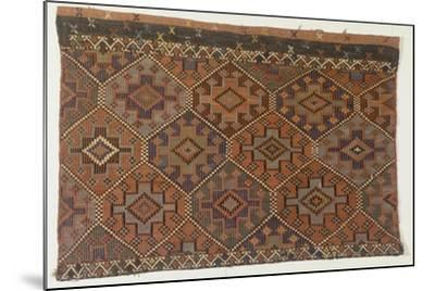 Rugs and Carpets: Turkey - Anatolia. Kilim Carpet--Mounted Giclee Print