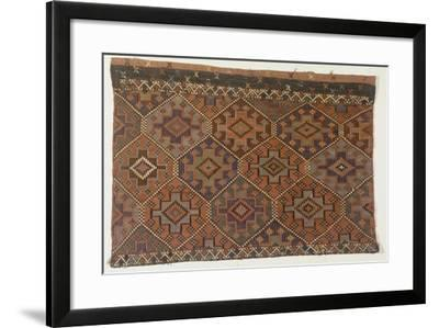 Rugs and Carpets: Turkey - Anatolia. Kilim Carpet--Framed Giclee Print
