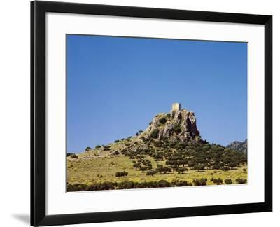 Spain, Extremadura, Almorchon, Castle--Framed Giclee Print