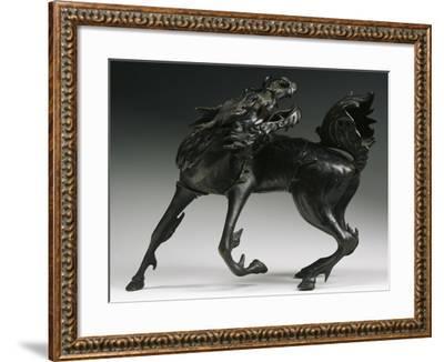 Horse, Bronze Statue, China--Framed Giclee Print