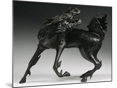 Horse, Bronze Statue, China--Mounted Giclee Print