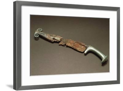Bronze Knife--Framed Giclee Print