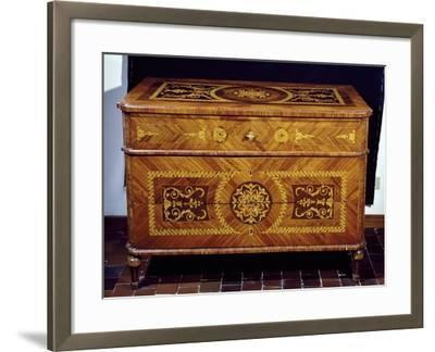 Neoclassical Style Chest, Giuseppe Maggiolini Style, Italy--Framed Giclee Print