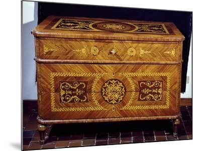 Neoclassical Style Chest, Giuseppe Maggiolini Style, Italy--Mounted Giclee Print