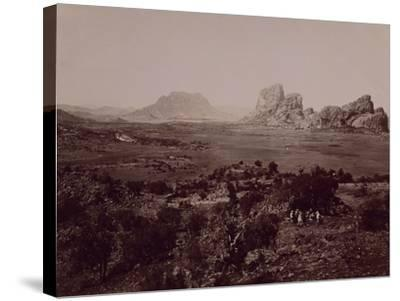 Senafe Basin Viewed from Summit of Amba Algi--Stretched Canvas Print