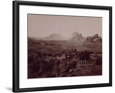 Senafe Basin Viewed from Summit of Amba Algi--Framed Giclee Print