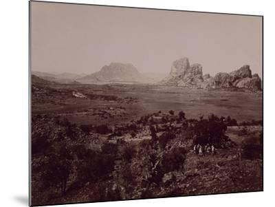 Senafe Basin Viewed from Summit of Amba Algi--Mounted Giclee Print