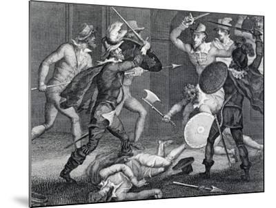 Gunpowder Plot, Plot Designed by Group of English Catholics Against King James I of England--Mounted Giclee Print