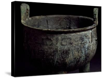 Bronze Food Vessel, China. Chinese Civilization, Western Zhou Dynasty, 10th Century BC--Stretched Canvas Print