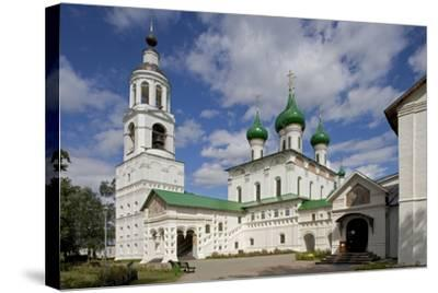 Russia, Yaroslavl, Historical Centre of City of Yaroslavl, Cathedral of Presentation--Stretched Canvas Print