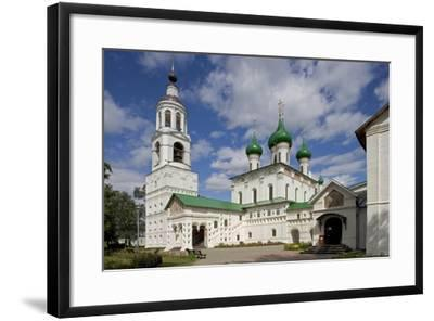 Russia, Yaroslavl, Historical Centre of City of Yaroslavl, Cathedral of Presentation--Framed Giclee Print