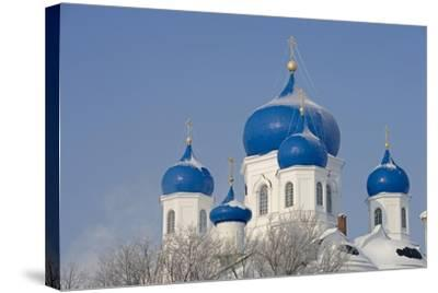 Russia, Golden Ring, Bogolyubov, Cathedral of Nativity of Virgin--Stretched Canvas Print