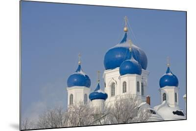 Russia, Golden Ring, Bogolyubov, Cathedral of Nativity of Virgin--Mounted Giclee Print