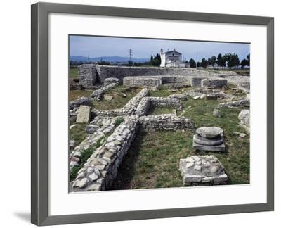 Ruins of the Roman Baths, Venosa, Basilicata, Italy BC--Framed Giclee Print