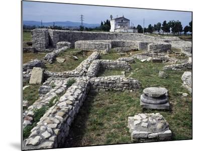 Ruins of the Roman Baths, Venosa, Basilicata, Italy BC--Mounted Giclee Print