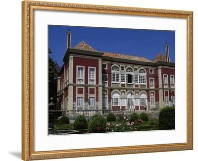 The Facade of the Palace of the Marquesses of Fronteira--Framed Giclee Print