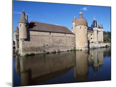 View of Chateau De La Clayette, Burgundy, France, 14th-19th Century--Mounted Giclee Print
