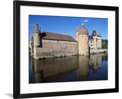 View of Chateau De La Clayette, Burgundy, France, 14th-19th Century--Framed Giclee Print