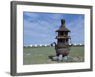 Mongolia, Erdene Zuu Monastery, 16th Century--Framed Giclee Print