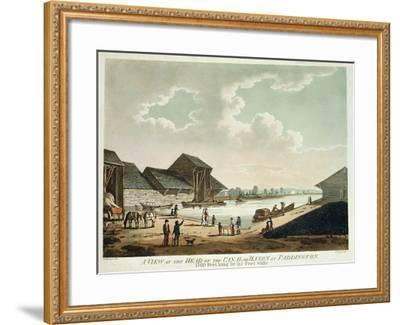 A View at the Head of the Canal at Paddington--Framed Giclee Print