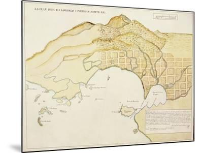 Saint Lawrence Bay and Monterey Harbor, California--Mounted Giclee Print
