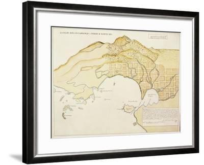 Saint Lawrence Bay and Monterey Harbor, California--Framed Giclee Print
