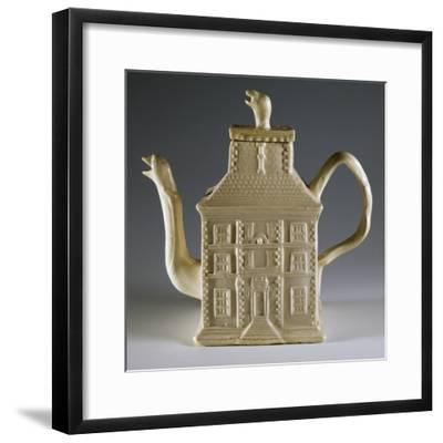 House-Shaped Teapot, 1750--Framed Giclee Print