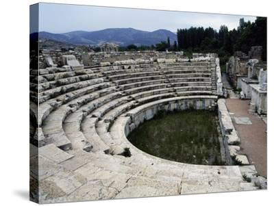 View of the Odeon, Aphrodisias, Turkey--Stretched Canvas Print