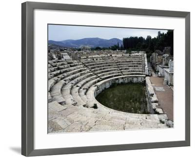 View of the Odeon, Aphrodisias, Turkey--Framed Giclee Print