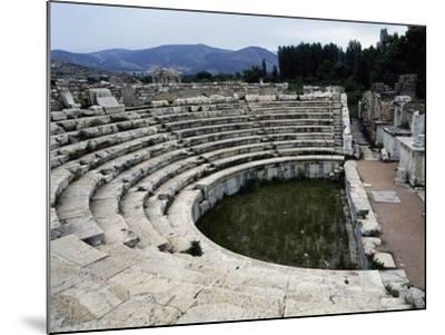View of the Odeon, Aphrodisias, Turkey--Mounted Giclee Print