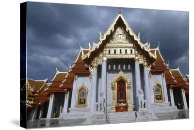 The Wat Benchamabophit or the Marble Temple in Bangkok, Thailand, 20th Century--Stretched Canvas Print