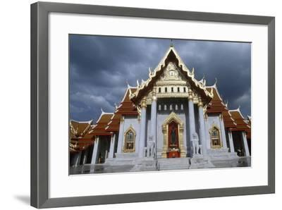 The Wat Benchamabophit or the Marble Temple in Bangkok, Thailand, 20th Century--Framed Giclee Print